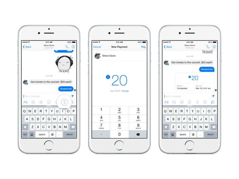 Facebook Messenger s'ouvre aux transferts d'argent en France