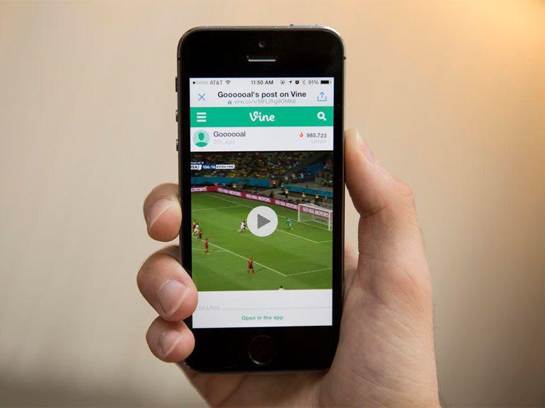 Vine pour iOS supporte les vidéos en HD
