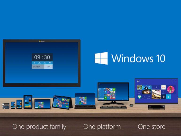 Prérequis pour Windows 10 : smartphones 3 pouces aux tablettes XXL