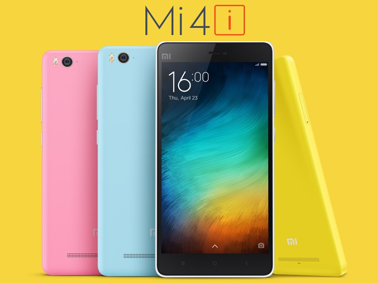 Xiaomi annonce le Mi 4i... qui ne sera vendu qu'en Inde