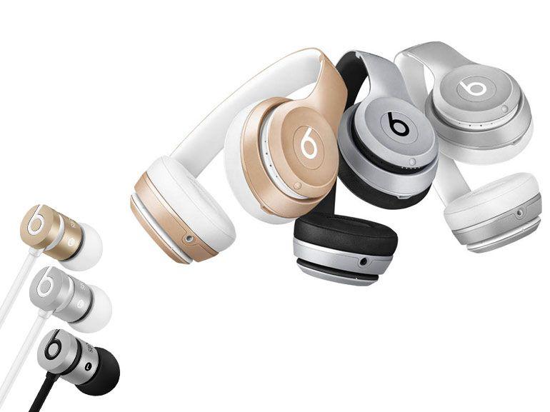Les casques et écouteurs Beats adoptent les teintes d'Apple