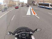 Livemap, un casque de moto avec GPS à affichage tête haute