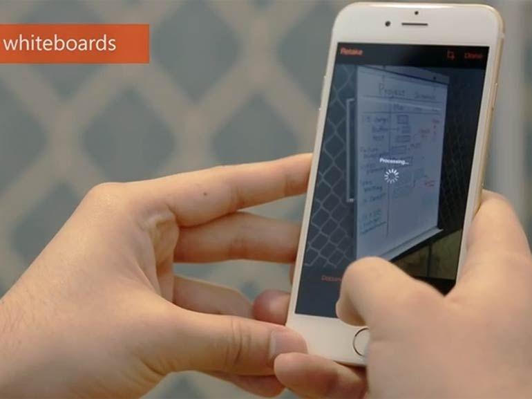 Microsoft Office Lens : le scanner virtuel pour smartphone arrive sur iOS et Android