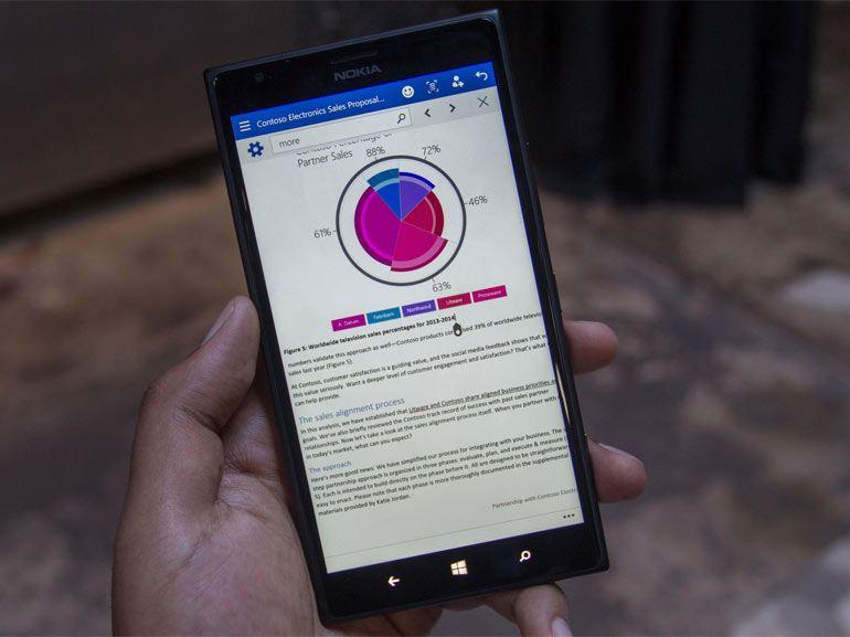 Office Universal bientôt disponible pour Windows 10 pour smartphone