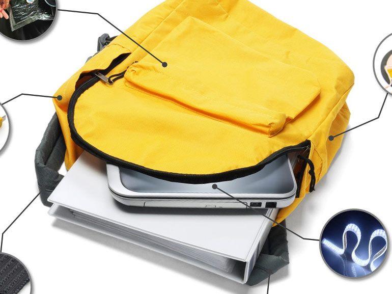 Sac à dos electroFIED : une mini centrale éléctrique portable