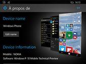 Windows 10 mobile en images : les nouveautés sur smartphone