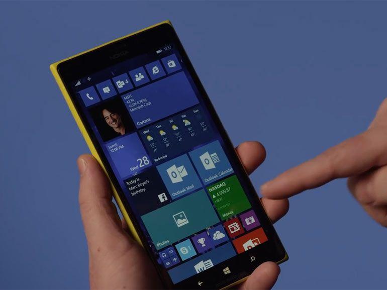 Windows 10 pour smartphones : Spartan, Outlook et Maps débarquent dans la nouvelle build