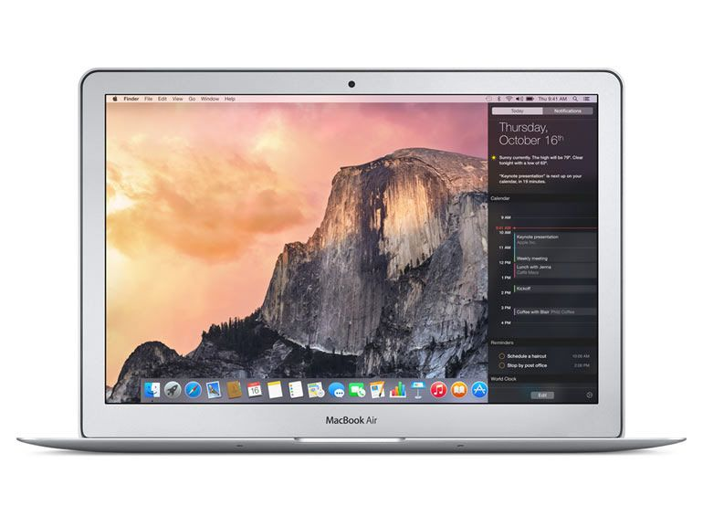 Bon plan : Apple Macbook Air 13 pouces + housse de protection à 949€