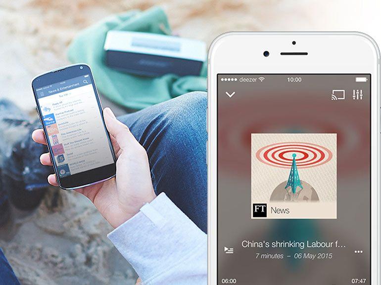 Deezer enrichit son service avec les podcasts