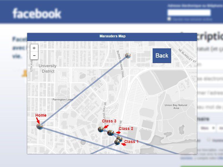 Facebook : l'extension qui trace les déplacements de vos amis