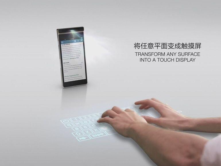 Lenovo Smart Cast : un smartphone avec un projecteur laser