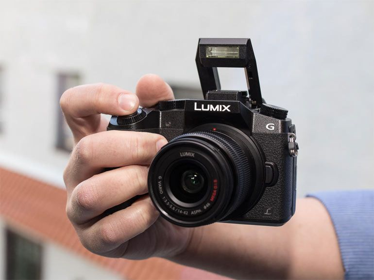 Panasonic Lumix DMC-G7 : de la 4K sur un appareil compact hybride