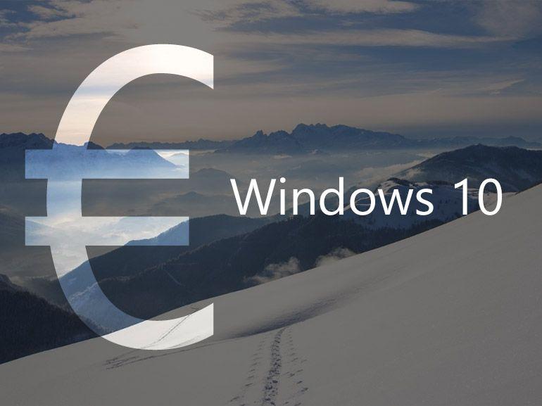 Windows 10 : le prix officiel des licences confirmé par Microsoft