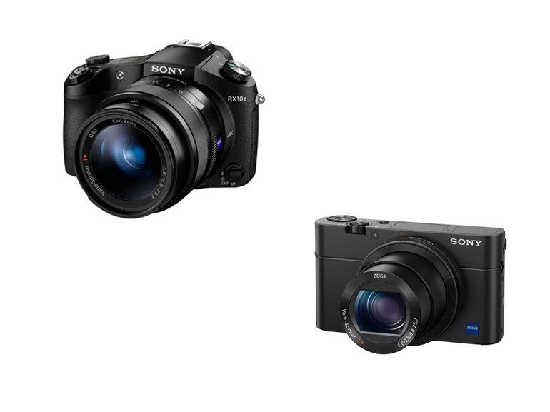 Les Sony RX100 IV et RX10 II inaugure le nouveau capteur de 1 pouce Exmor RS