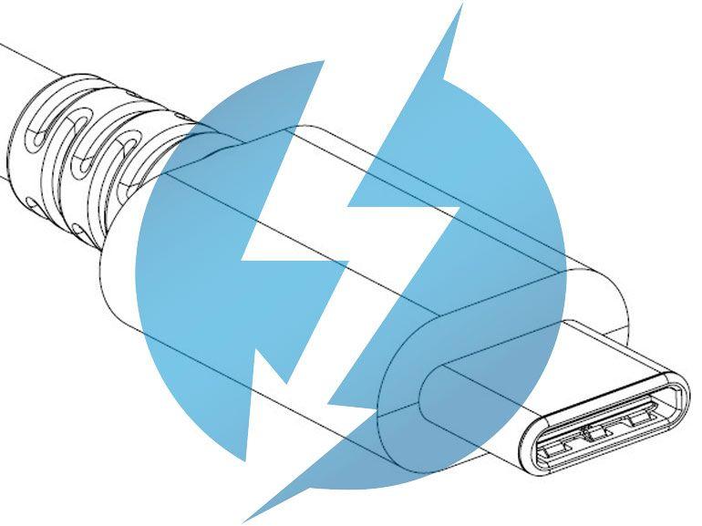 Thunderbolt 3 et USB Type-C main dans la main