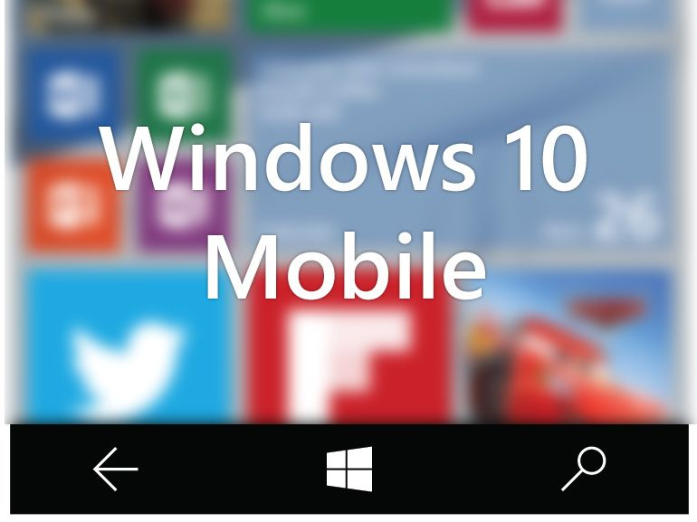 Télécharger Windows 10 mobile build 10136 pour smartphone