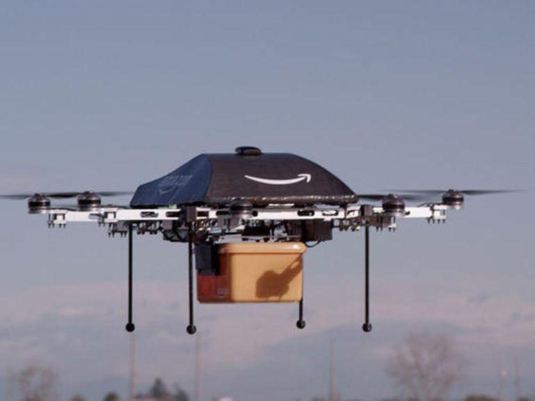 Projet Prime Air : Amazon suggère la création d'un couloir aérien réservé aux drones