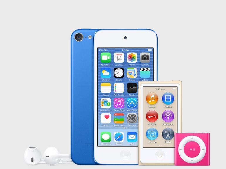 Les nouveaux iPod lancés le 14 juillet?