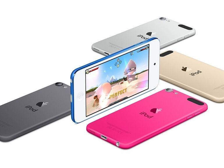 Les nouveaux iPod sont là, l'iPod Touch passe au 64 bits