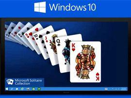 Windows 10 : les jeux de solitaires intégrés passent au « freemium»