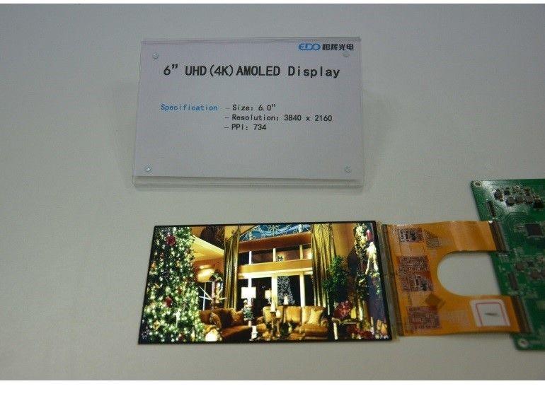 Un prototype d'écran UHD de 6 pouces à destination des casques de réalité virtuelle