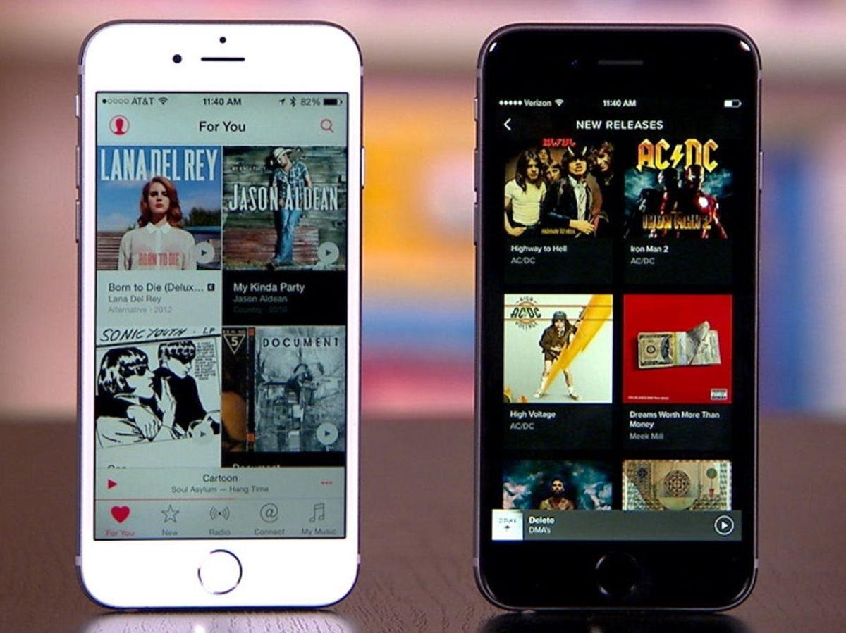 apple music vs spotify test de la