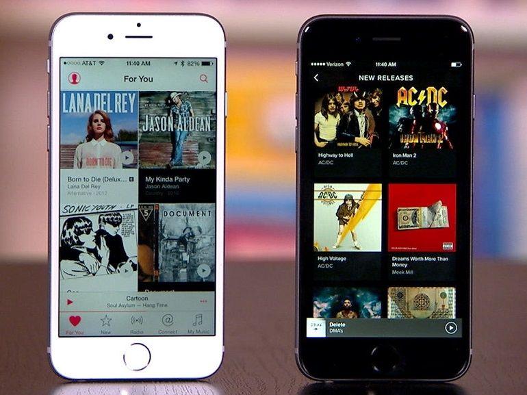 Streaming musical : Apple Music serait le nouveau leader du marché américain