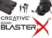 Creative Sound BlasterX : 4 périphériques audio dédiés au jeu vidéo