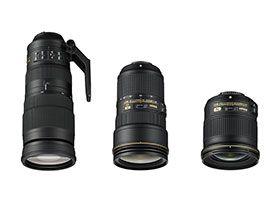Trois nouvelles optiques pour Nikon : un 24 mm f/2.8, un 24-70 mm f/2.8 et un 200-500 mm f/5.6