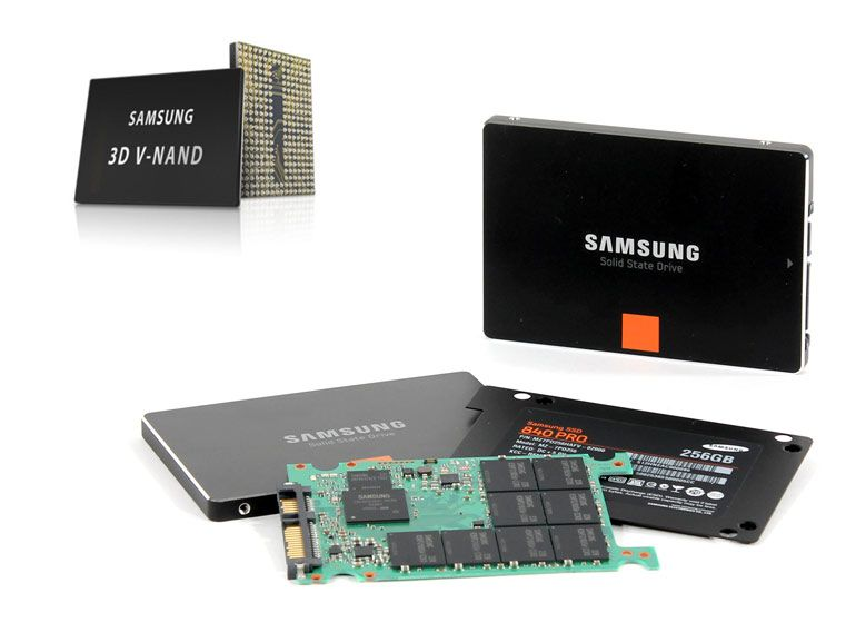 Flash : Samsung lance la production de la 3D V-NAND et présente un SSD de 15,36 To