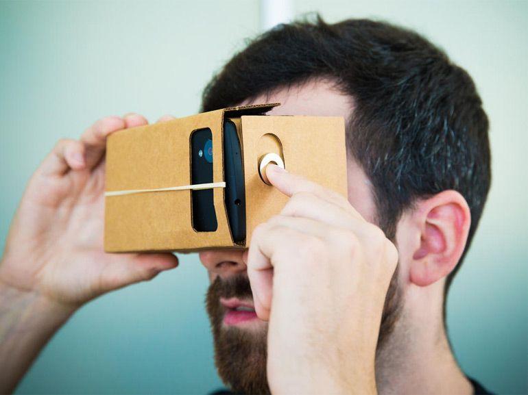 Réalité virtuelle : Microsoft prépare une réplique au Carboard de Google