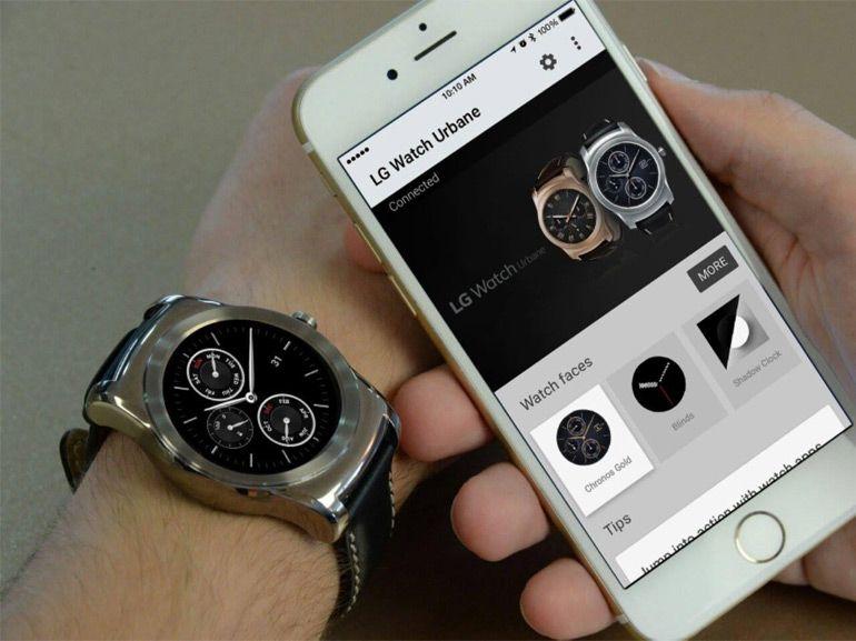 L'iPhone est désormais compatible avec les smartwatches sous Android Wear