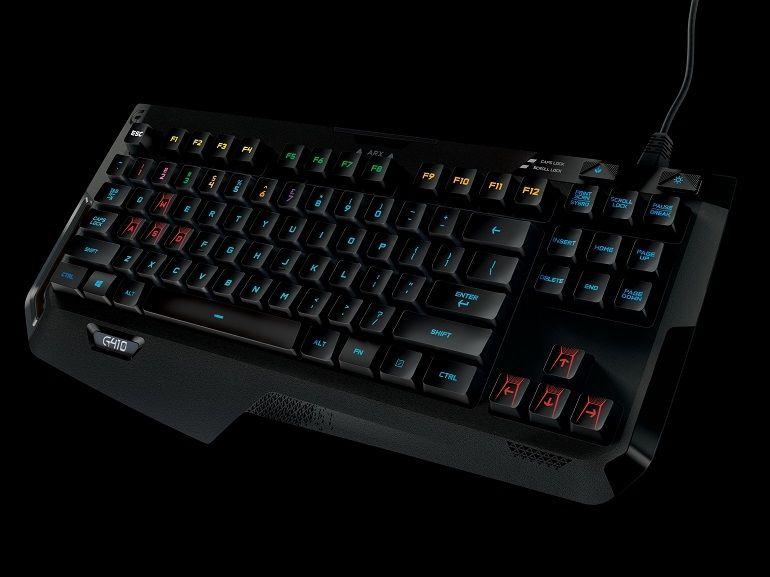 Logitech G410 : un clavier mécanique à transporter partout