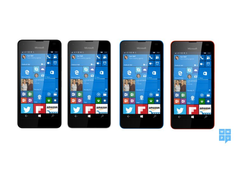 Un Lumia 550, invité surprise de Microsoft ?