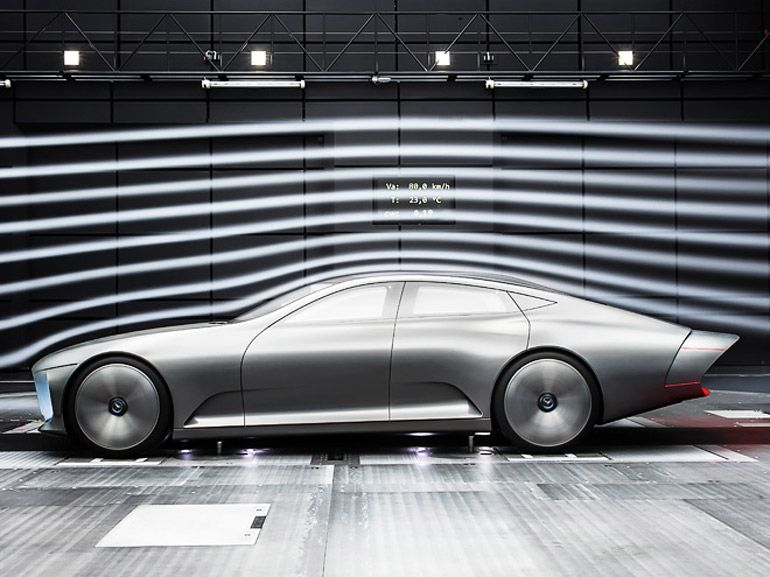 Mercedes IAA : le concept-car à géométrie variable