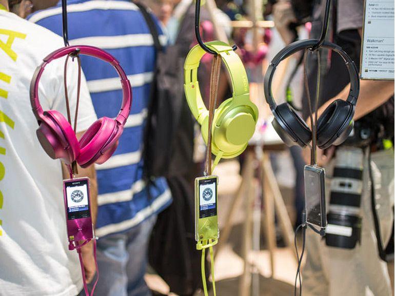 IFA 2015 : Sony mise sur l'audio très haute résolution avec ses Walkman H.ear