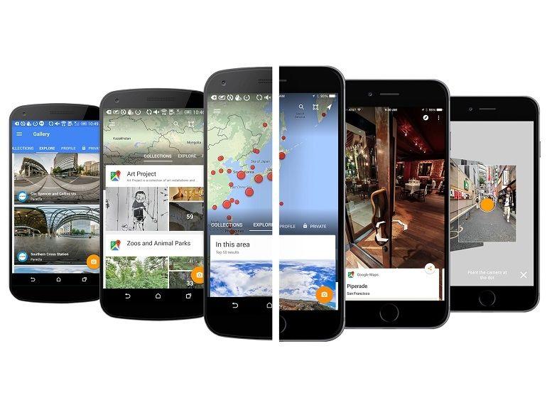 Google Street View a désormais son application dédiée