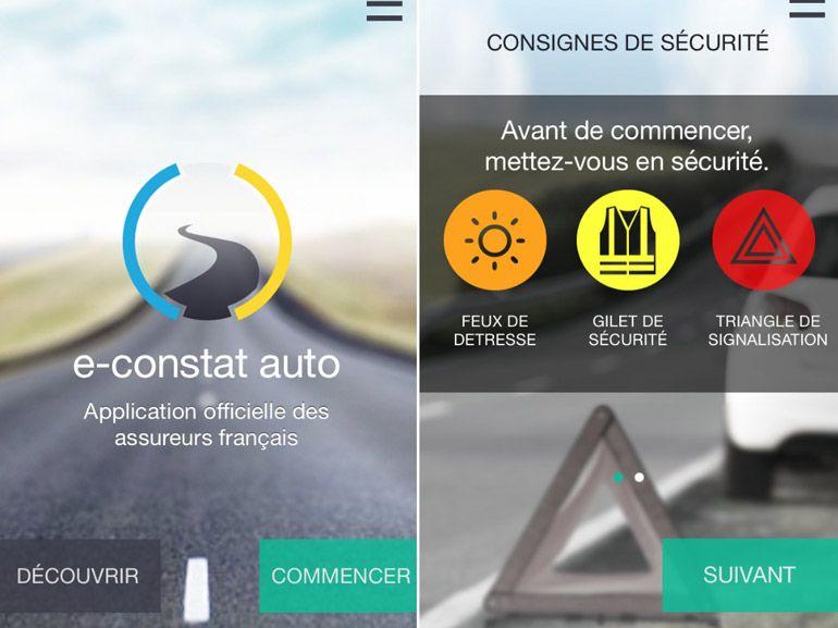 Accident de voiture : comment faire son constat sur smartphone ?