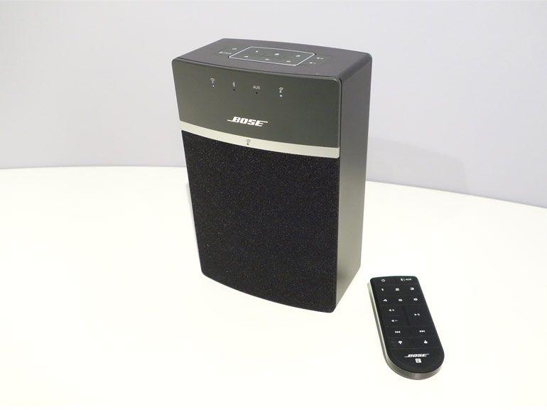 Bluetooth et multisource pour la nouvelle enceinte mutltiroom Bose SoundTouch 10