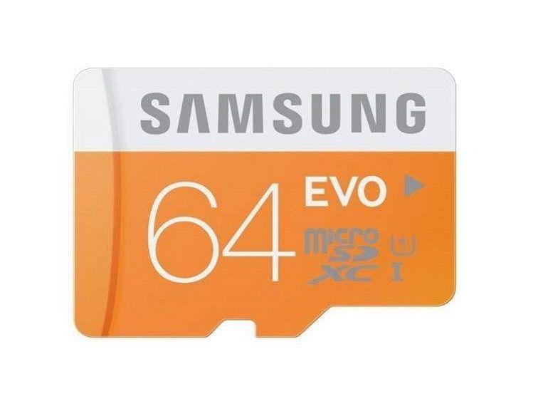 Bon plan : micro SDXC Samsung EVO 64 Go à 17€