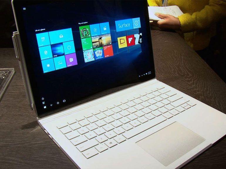 Microsoft Surface Book : un bug sur l'écran en attente de correctif