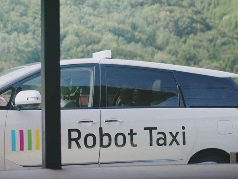 Les taxis robots arrivent au Japon dès 2016
