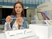 Samsung présente des batteries flexibles et incurvées