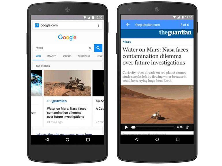 Avec AMP, Google compte lancer l'équivalent d'Instant Articles de Facebook début 2016