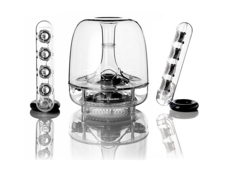 Bon plan : l'enceinte Harman Kardon Soundsticks à 80€ chez Darty