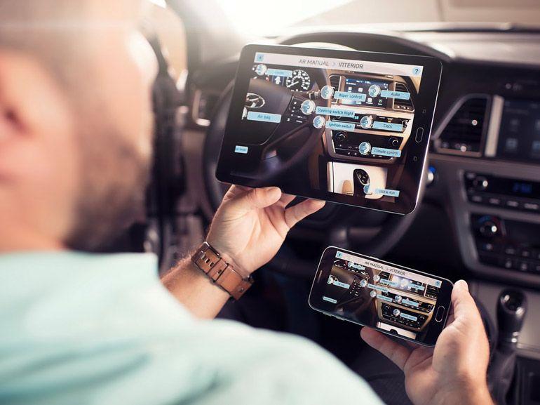 Hyundai lance un manuel d'utilisateur en réalité augmentée