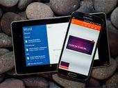 Les applications Microsoft Office pour Android divisent leur poids par deux