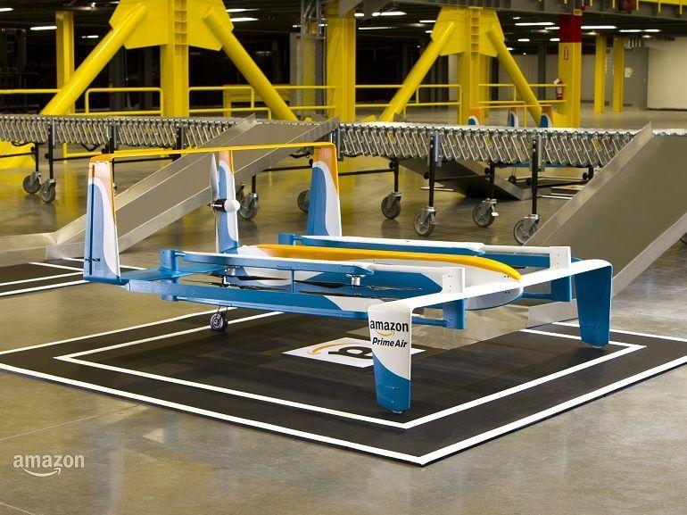 Prime Air : Amazon montre un nouveau prototype de drone livreur