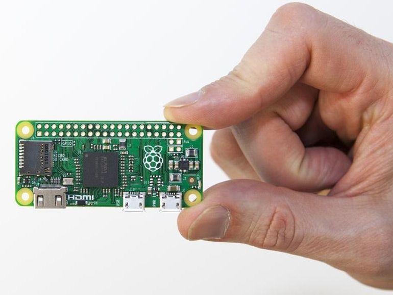 Raspberry va encore plus loin avec son Pi Zero à 5 dollars
