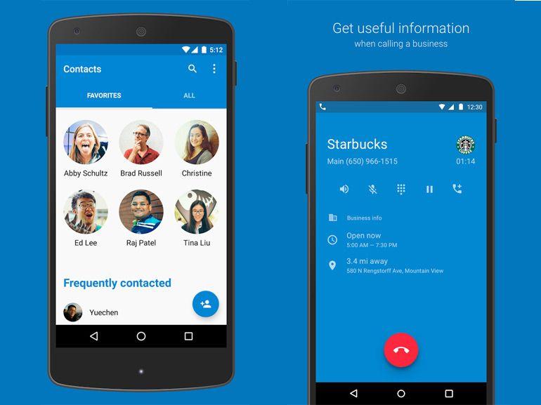 Google publie, puis retire du Play Store ses applications Téléphone et Contacts pour Android